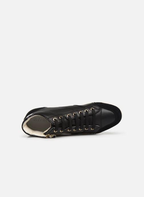 Sneakers Geox D MYRIA 3 Zwart links