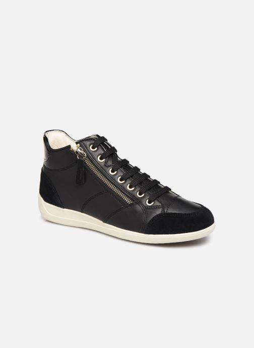 Sneakers Geox D MYRIA 3 Zwart detail