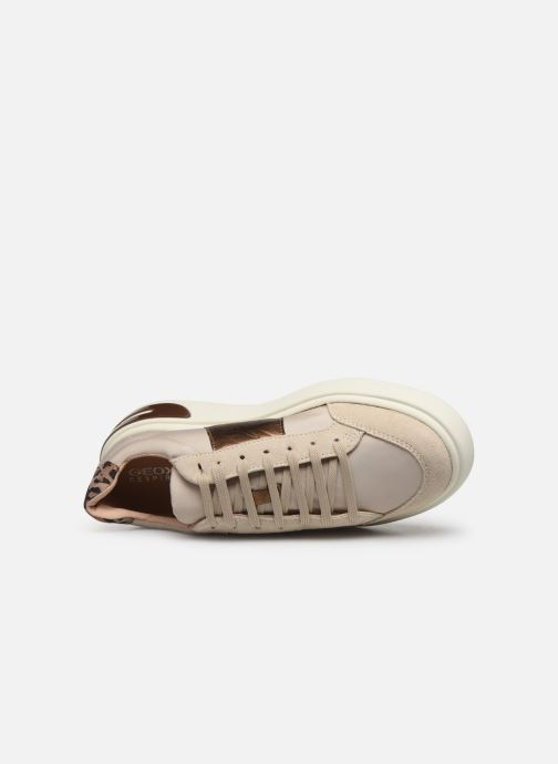 Trainers Geox D OTTAYA Beige view from the left
