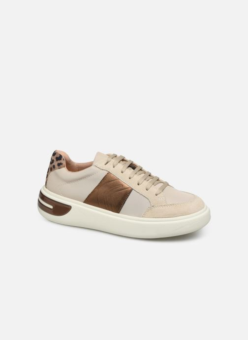 Trainers Geox D OTTAYA Beige detailed view/ Pair view