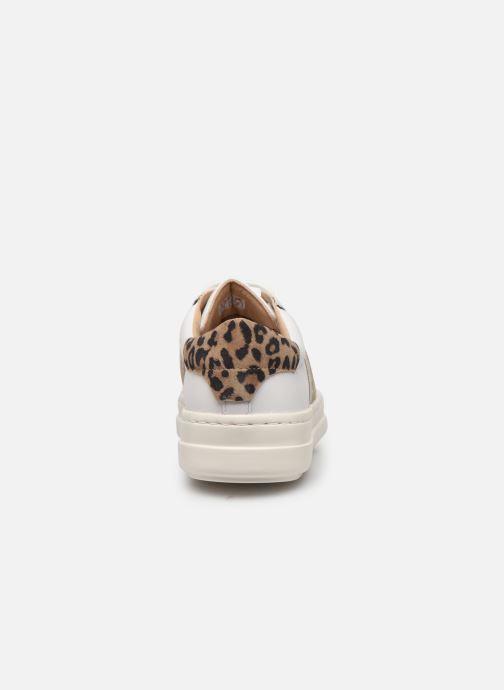 Sneakers Geox D PONTOISE Bianco immagine destra
