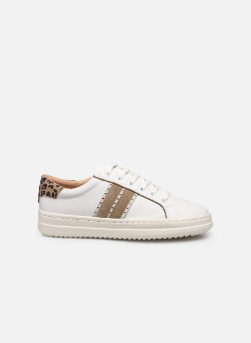 Sneakers Geox D PONTOISE Bianco immagine posteriore