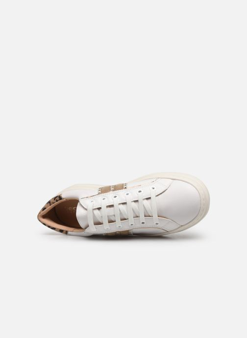 Sneakers Geox D PONTOISE Bianco immagine sinistra