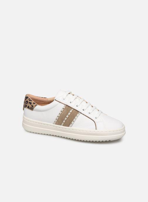 Sneakers Geox D PONTOISE Bianco vedi dettaglio/paio