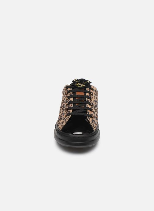 Sneaker Geox D PONTOISE beige schuhe getragen