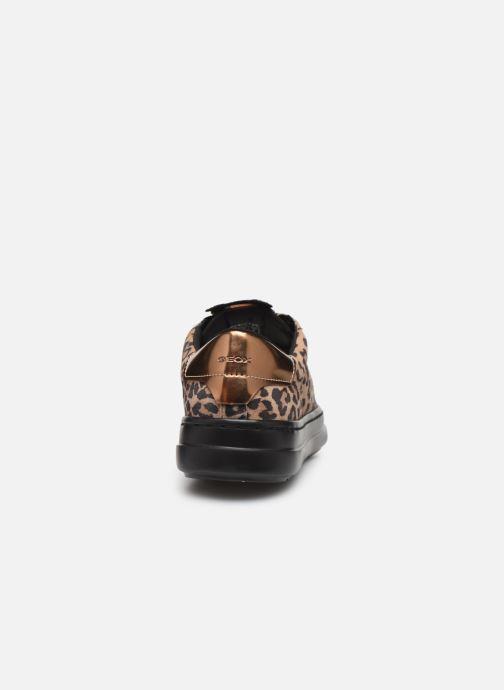 Sneaker Geox D PONTOISE beige ansicht von rechts