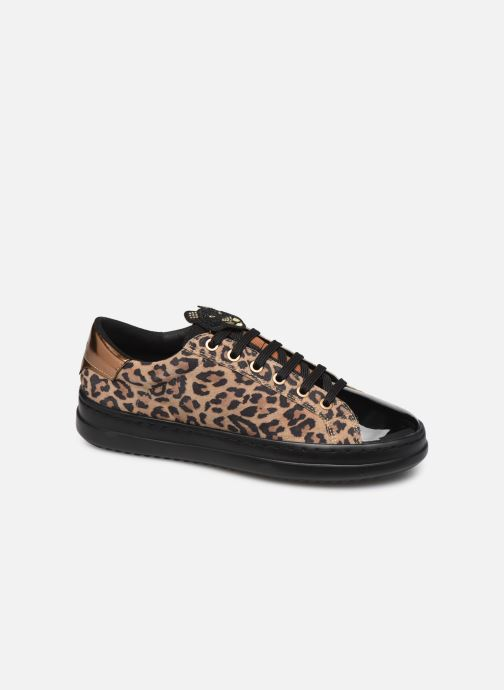 Sneaker Geox D PONTOISE beige detaillierte ansicht/modell
