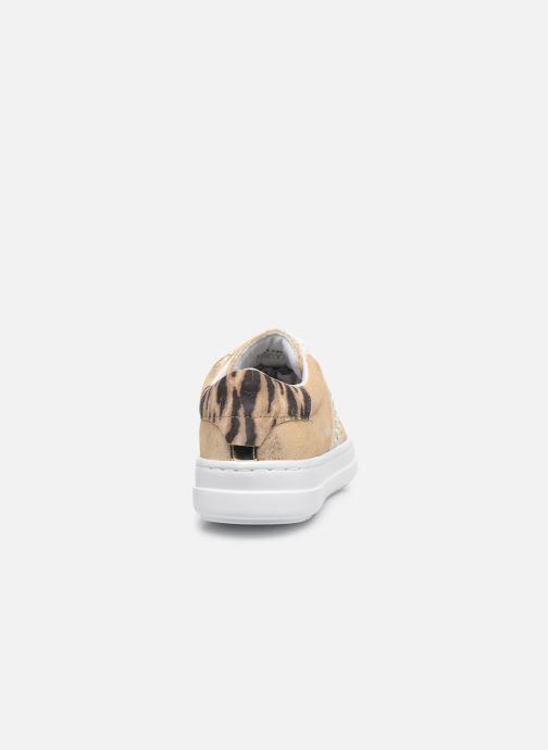 Sneakers Geox D PONTOISE Oro e bronzo immagine destra