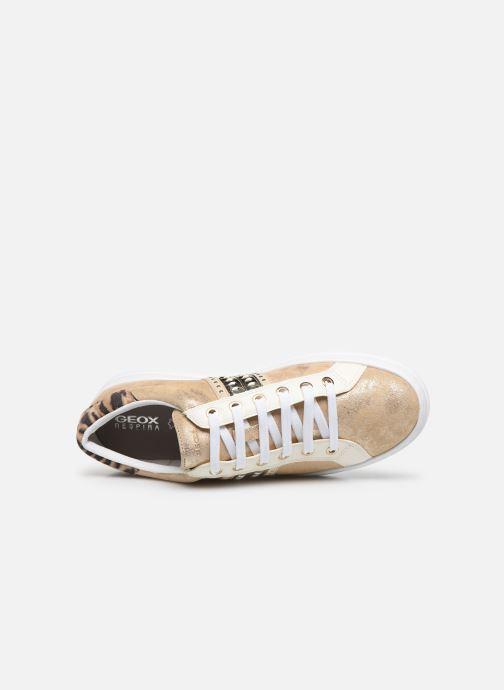 Sneakers Geox D PONTOISE Oro e bronzo immagine sinistra