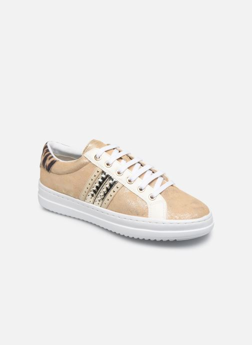 Sneakers Geox D PONTOISE Oro e bronzo vedi dettaglio/paio