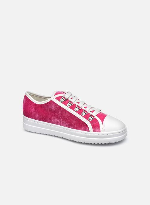 Sneakers Geox D PONTOISE Rood detail