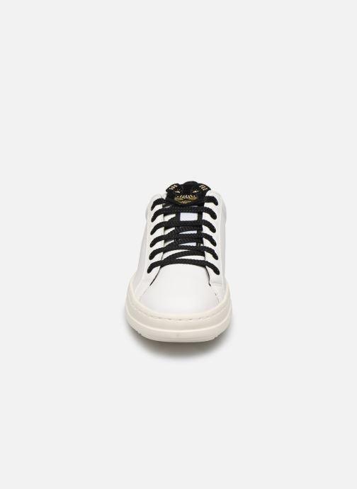 Sneakers Geox D PONTOISE 2 Bianco modello indossato