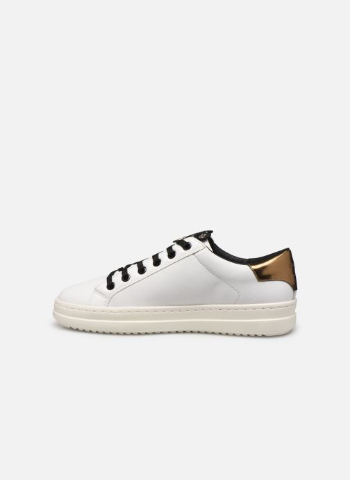 Sneakers Geox D PONTOISE 2 Bianco immagine frontale