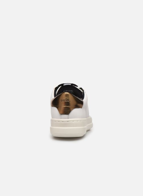 Sneakers Geox D PONTOISE 2 Bianco immagine destra