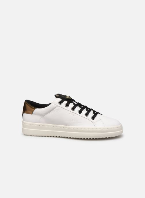 Sneakers Geox D PONTOISE 2 Bianco immagine posteriore