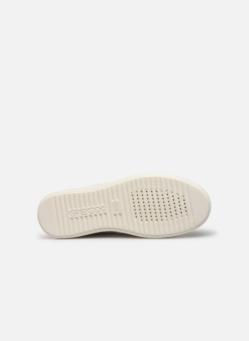 Sneakers Geox D PONTOISE 2 Bianco immagine dall'alto