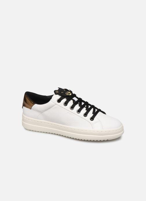 Sneakers Geox D PONTOISE 2 Bianco vedi dettaglio/paio