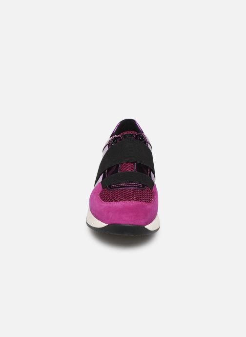 Sneaker Geox D SUZZIE rosa schuhe getragen
