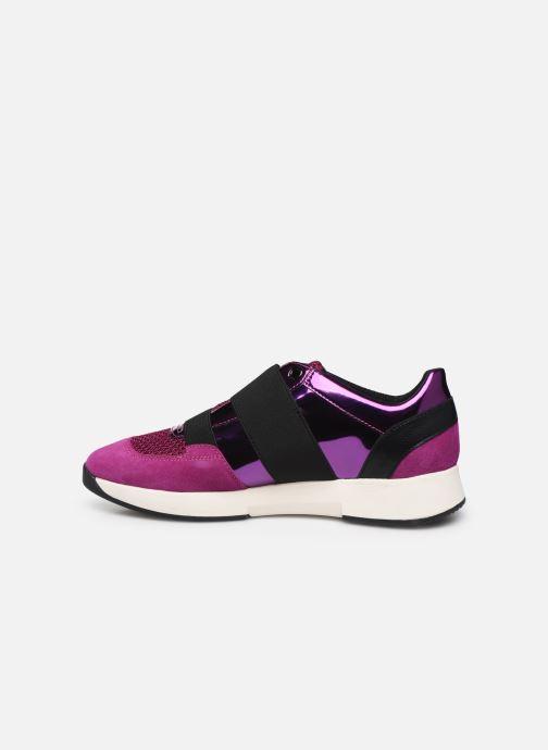 Sneaker Geox D SUZZIE rosa ansicht von vorne