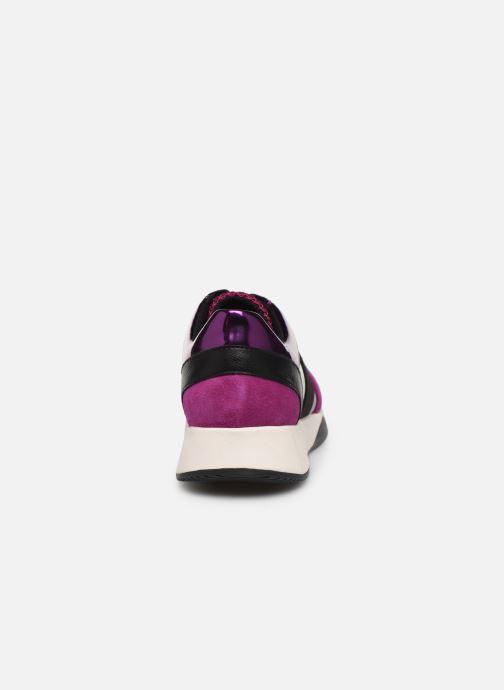 Sneaker Geox D SUZZIE rosa ansicht von rechts