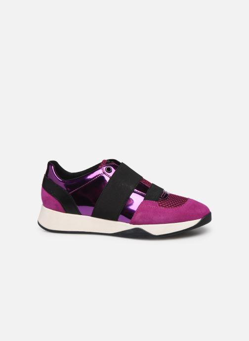 Sneaker Geox D SUZZIE rosa ansicht von hinten