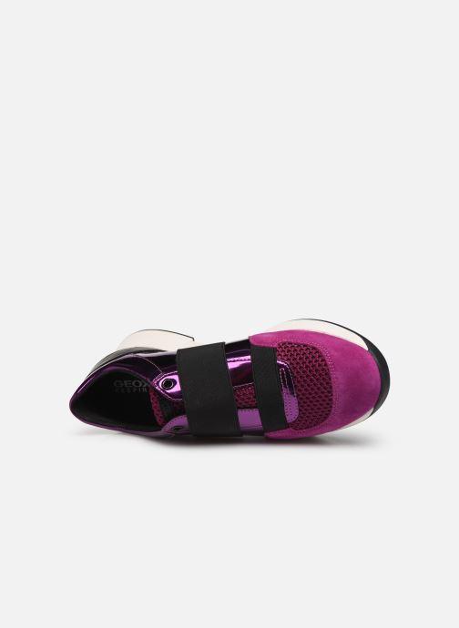 Sneaker Geox D SUZZIE rosa ansicht von links