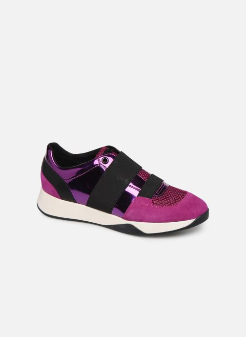 Trainers Geox D SUZZIE Pink detailed view/ Pair view