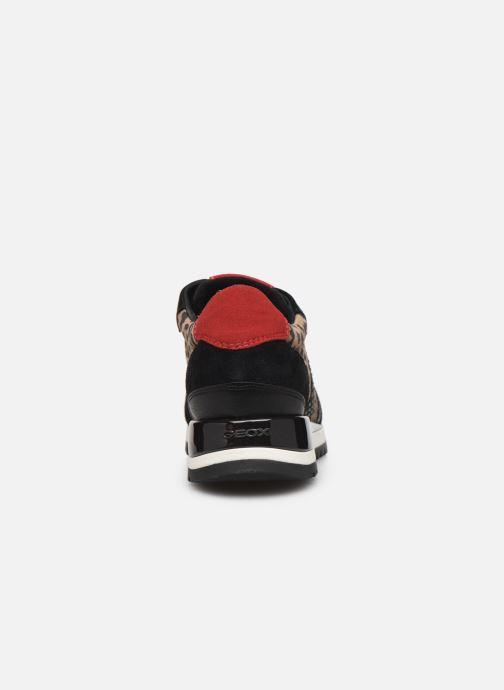 Sneaker Geox D TABELYA mehrfarbig ansicht von rechts