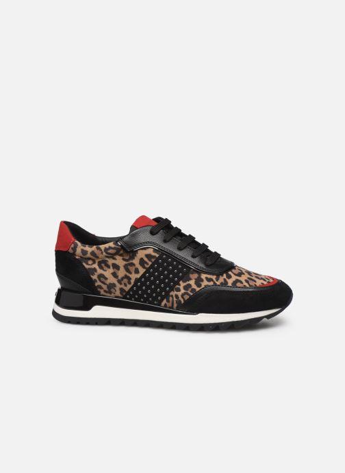 Sneaker Geox D TABELYA mehrfarbig ansicht von hinten