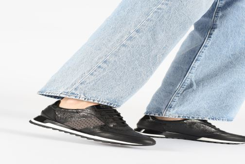Sneaker Geox D TABELYA beige ansicht von unten / tasche getragen