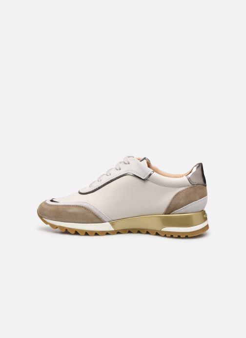 Sneaker Geox D TABELYA beige ansicht von vorne
