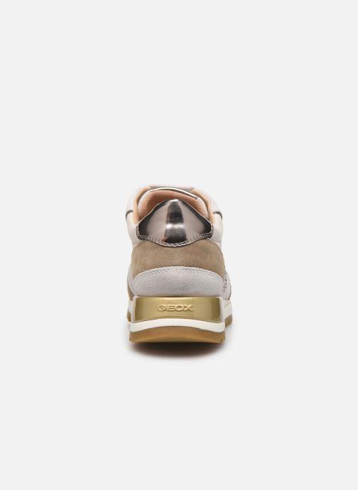 Sneaker Geox D TABELYA beige ansicht von rechts