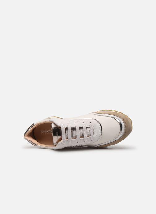 Sneaker Geox D TABELYA beige ansicht von links