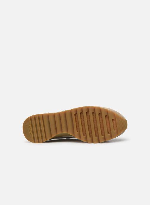 Sneaker Geox D TABELYA beige ansicht von oben