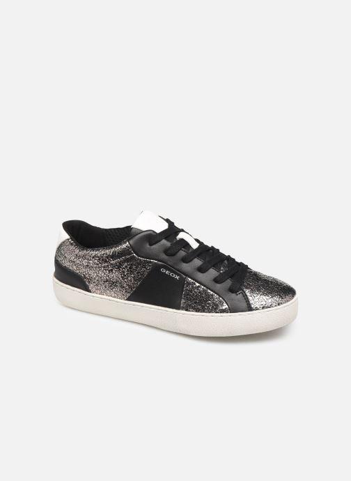 Sneaker Geox D WARLEY silber detaillierte ansicht/modell
