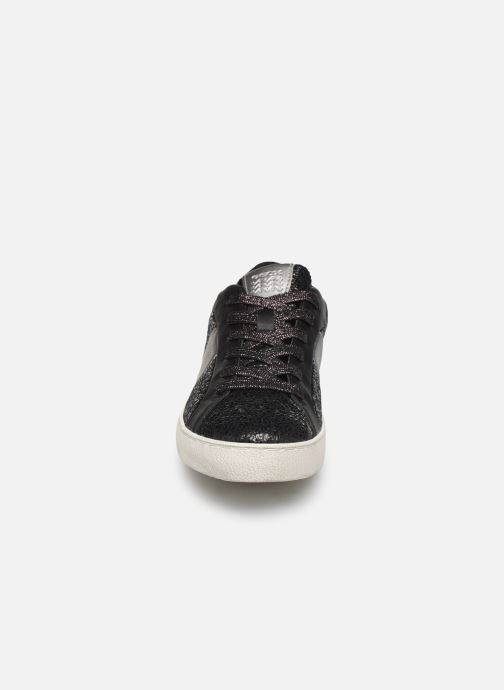 Baskets Geox D WARLEY Noir vue portées chaussures