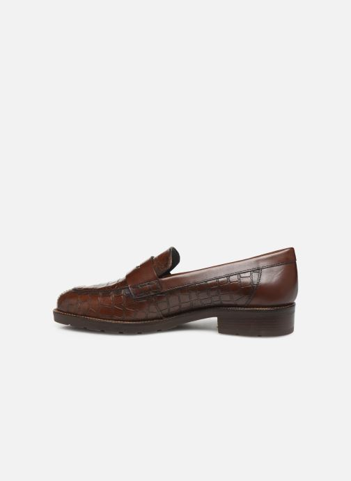 Loafers Geox D BETTANIE Brown front view