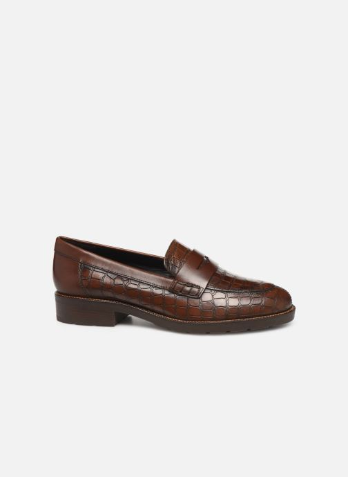 Loafers Geox D BETTANIE Brown back view