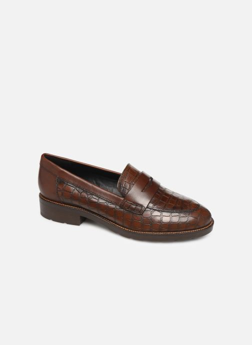 Loafers Geox D BETTANIE Brown detailed view/ Pair view