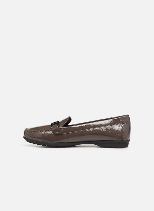 Loafers Geox D ELIDIA Brown front view