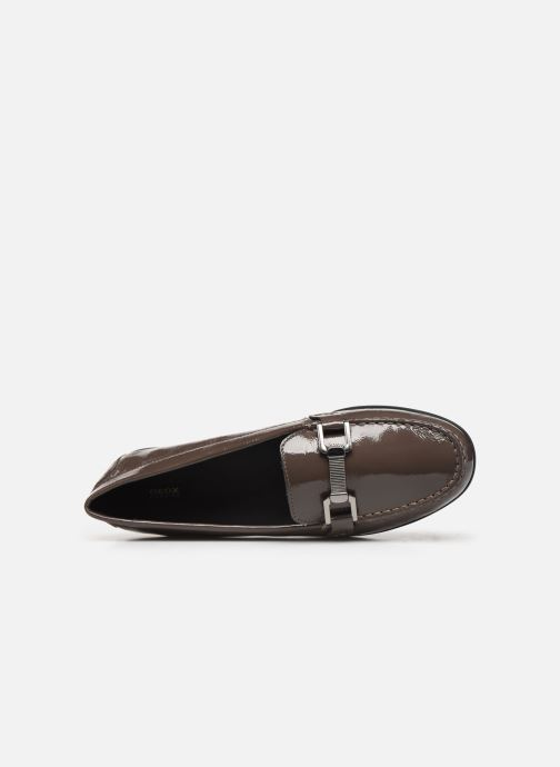 Loafers Geox D ELIDIA Brown view from the left