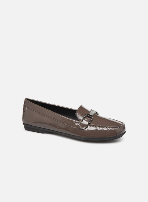 Loafers Geox D ELIDIA Brown detailed view/ Pair view