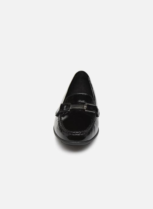 Mocassins Geox D ELIDIA Noir vue portées chaussures