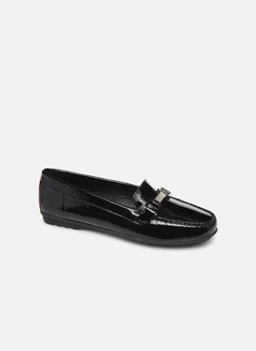 Loafers Geox D ELIDIA Black detailed view/ Pair view