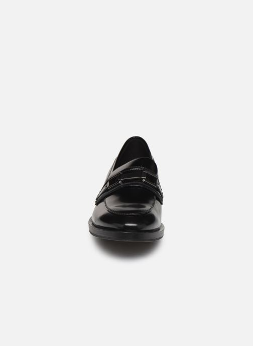 Loafers Geox DONNA BROGUE Black model view
