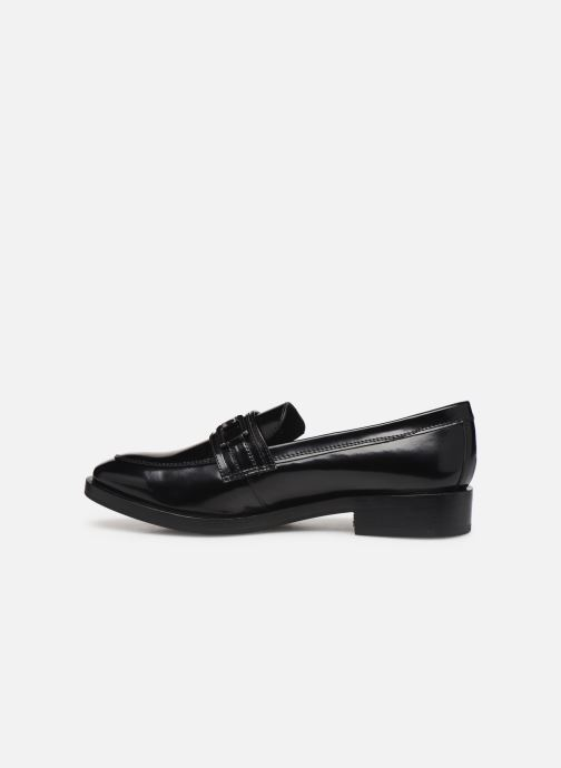 Loafers Geox DONNA BROGUE Black front view