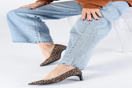 Zapatos de tacón Geox D BIBBIANA  2 Beige vista de abajo