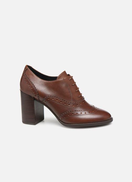 Chaussures à lacets Geox D JACY HIGH Marron vue derrière