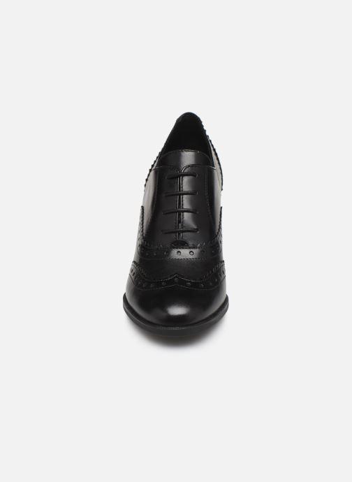 Snøresko Geox D JACY HIGH Sort se skoene på