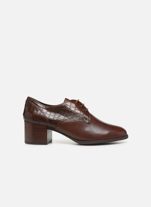 Zapatos con cordones Geox D JACY MID Marrón vistra trasera